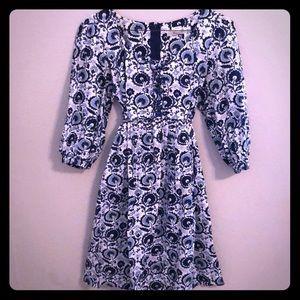 Theme blue dress
